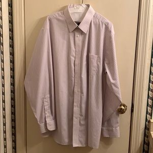 STAFFORD dress shirt size 18 36-37